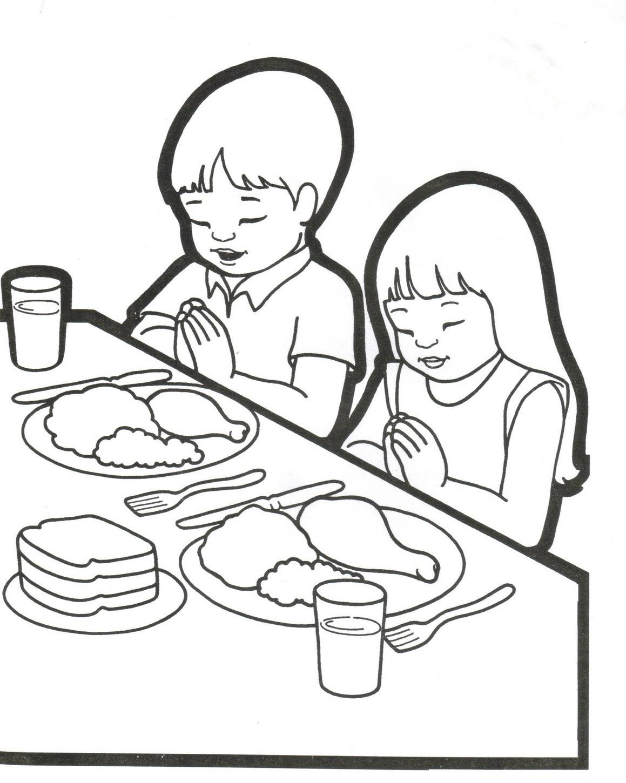 Imagenes de Jesus: orando con niños