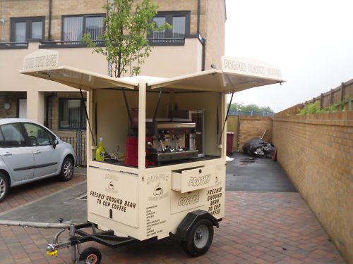 EBay Scam Hunter COFFEE TRAILER WITH DUAL FUEL MACHINE