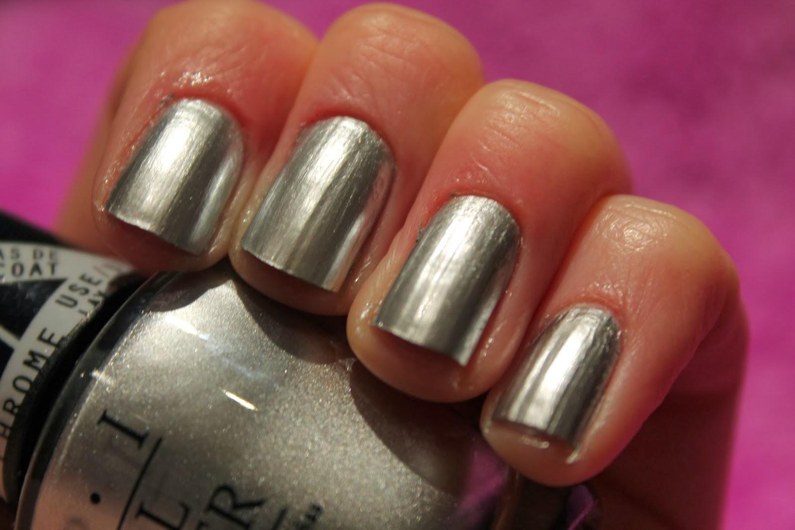 Gwen Stefani OPI Collection - Chrome Nail Polish Swatch