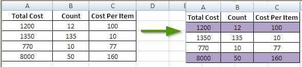Highlight Multiple Cells Formula  - Conditional Formatting - Java Example Program