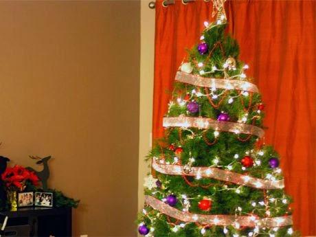 arbol navidad con luces