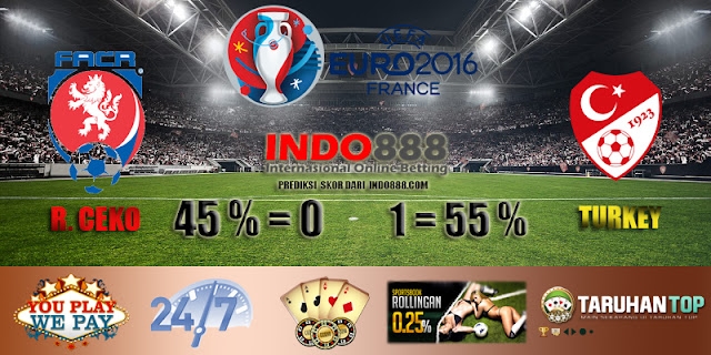 Prediksi Skor Republik Ceko vs Turki Euro 2016 - Indo888News