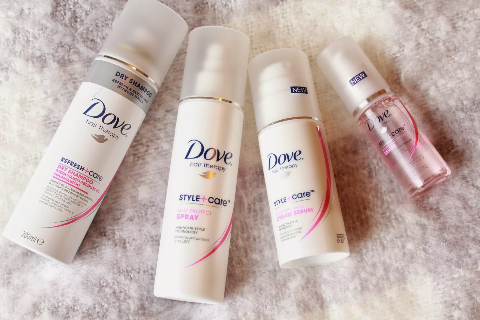 Dove Hair Therapy Range