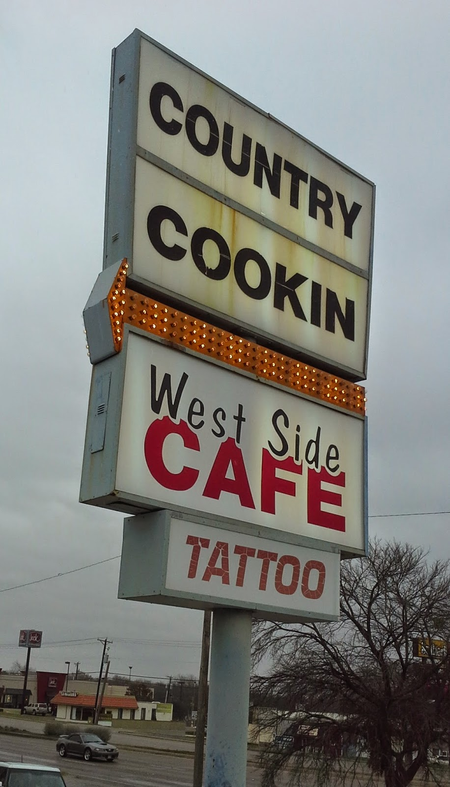 Breakfast Bro -- Texas Edition : West Side Cafe, Fort Worth