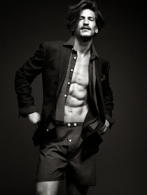 Jarrod Scott by Fredrik Wannerstedt for Plaza Magazine
