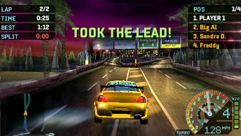 need for speed underground rivals (usa) psp iso cso download