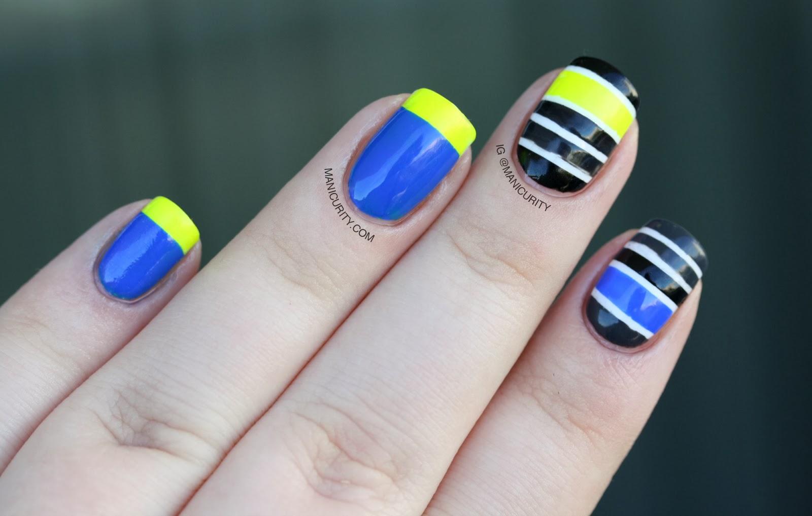 Nail Art Ideas » Mash Nail Art - Pictures of Nail Art Design Ideas
