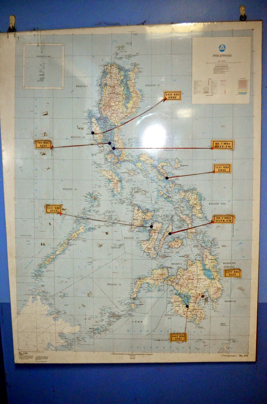 the map to the left shows the far east broadcast company s radio stations turning point can be found on five of those stations across the country