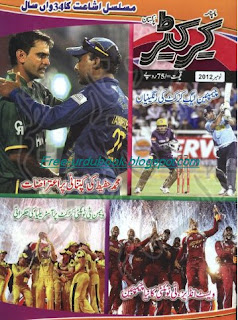 Crickter Magazine November 2012