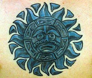 Desenhos de Tatuagens Astecas