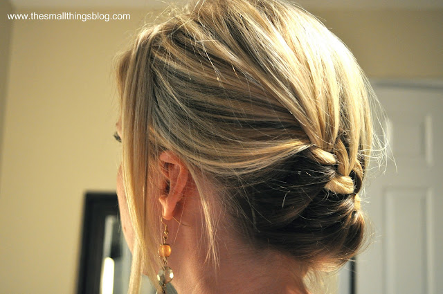 hair style tutorial: wrap around french braid