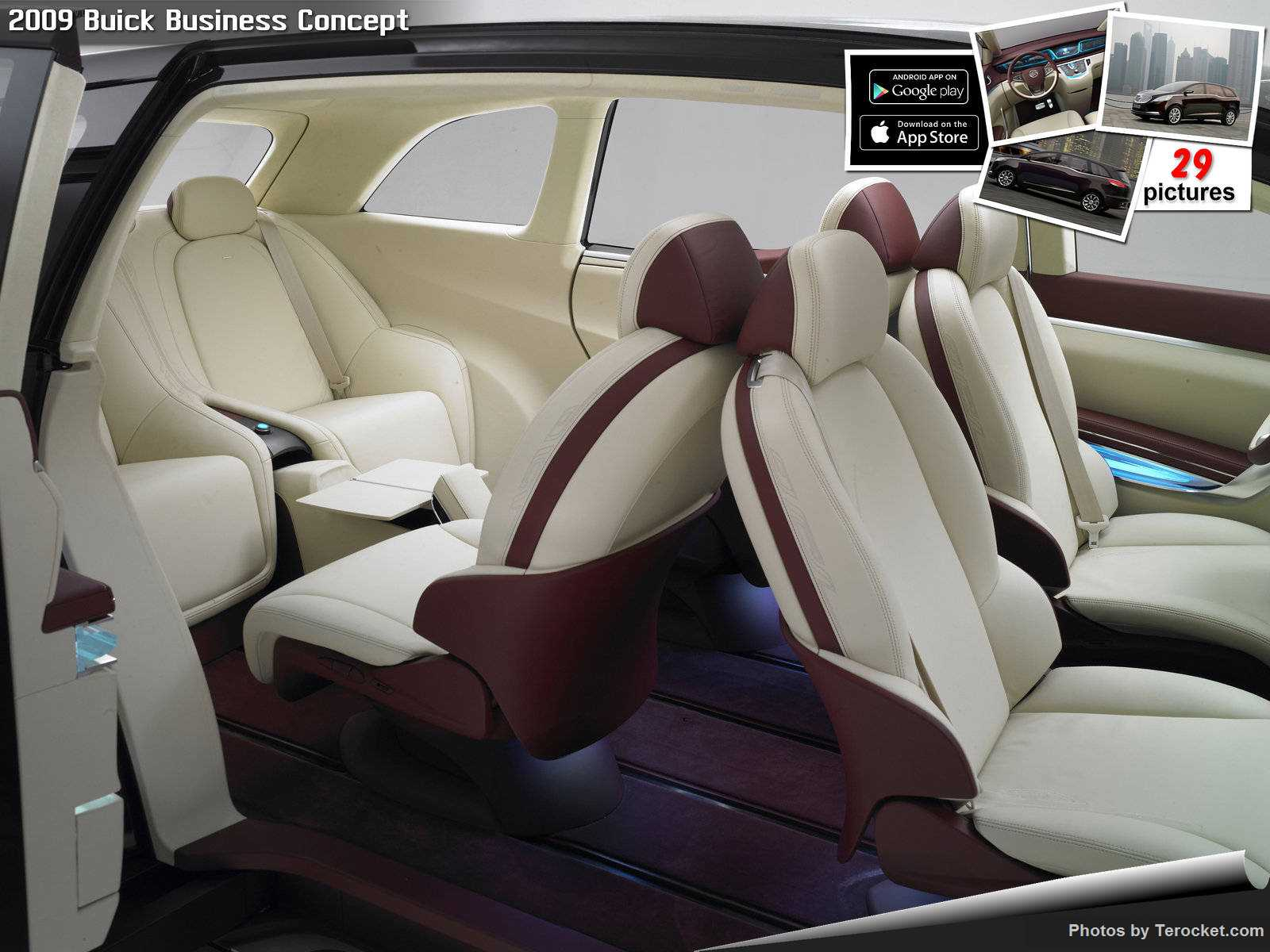 Hình ảnh xe ô tô Buick Business Concept 2009 & nội ngoại thất