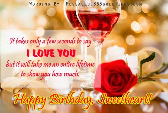 Happy Birthday Wishes Love