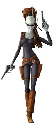 Star Wars Aurra Sing