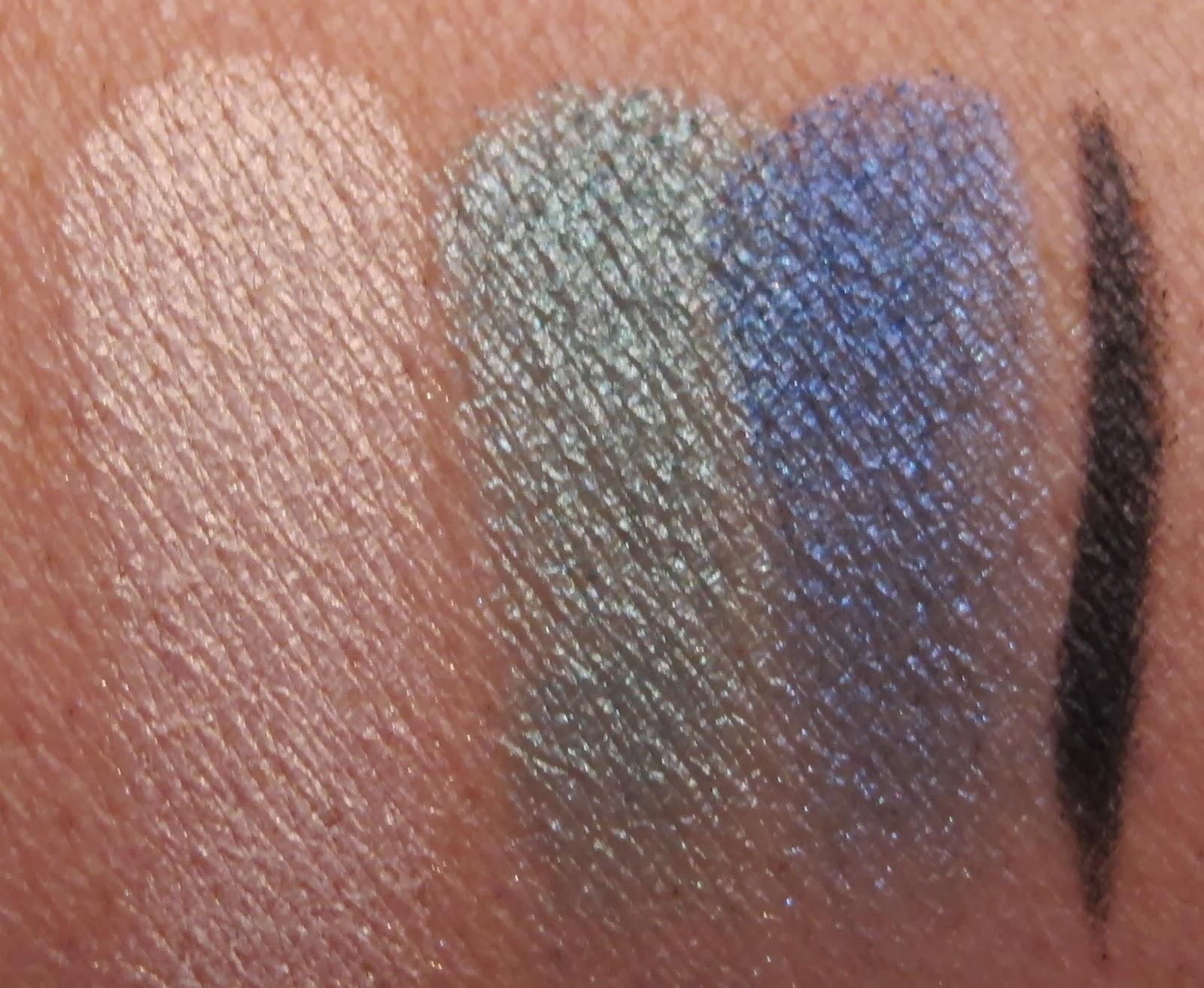 Lise Watier Jardin De Givre Eyeshadow And Liner Palette Review And  # Palette Jardin De Givre