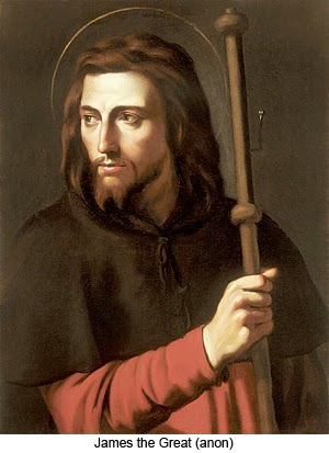 JULY 25 - Feast of St James the elder, Apostle