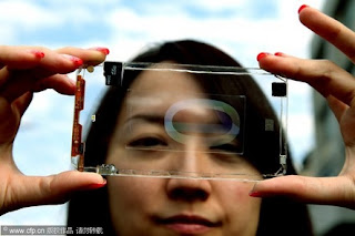 Polytron Introduces Phone with Transparent Body