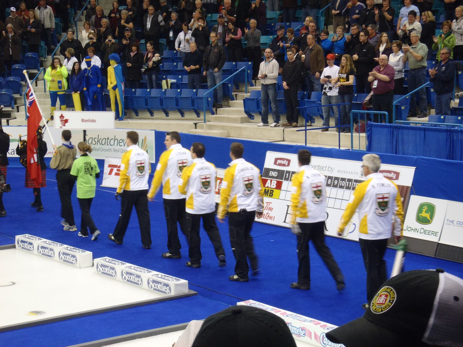 Saskatoon Brier Patch 2012