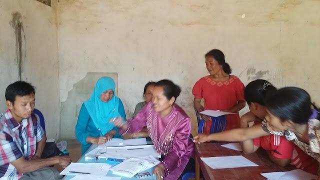 Fasilitasi KPMD membuat Pembukuan Kelompok