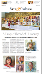 THE EPOCH TIMES FEATURES SPINKS' PORTRAIT PROJECTS. Click image.