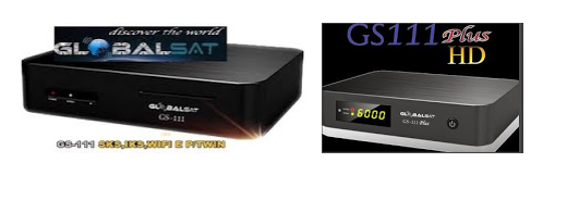 Atualizacao para o receptor Globalsat GS111 e GS111 Plus V
