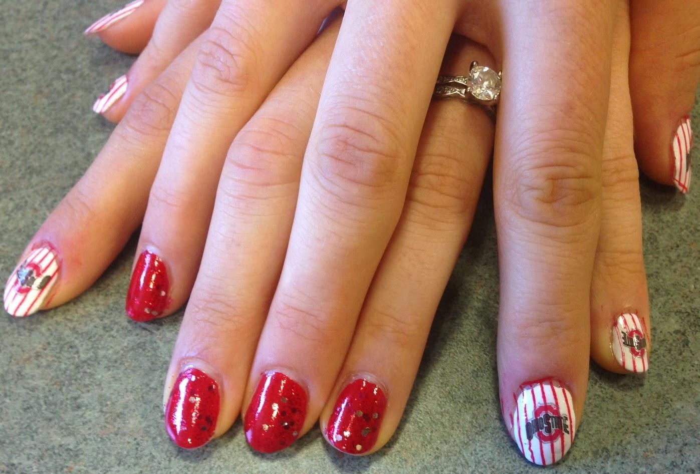 Polish Freshie The Ohio State Nails