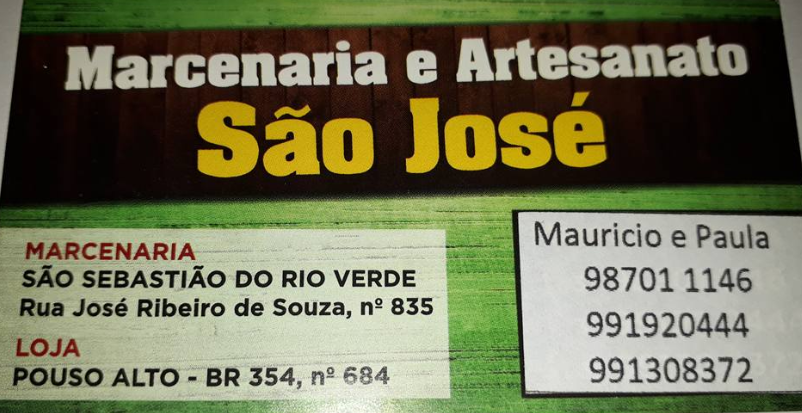ENCOMENDE SEUS MÓVEIS NA MARCENARIA E ARTESANATO S. JOSÉ DE POUSO ALTO.