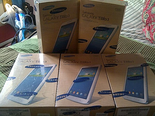 CEK BARANG 99 Samsung Galaxy Tab 3 Lite 70 3G SM T111 8GB Harga Rp