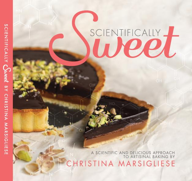 """Scientifically Sweet"" debut cookbook"
