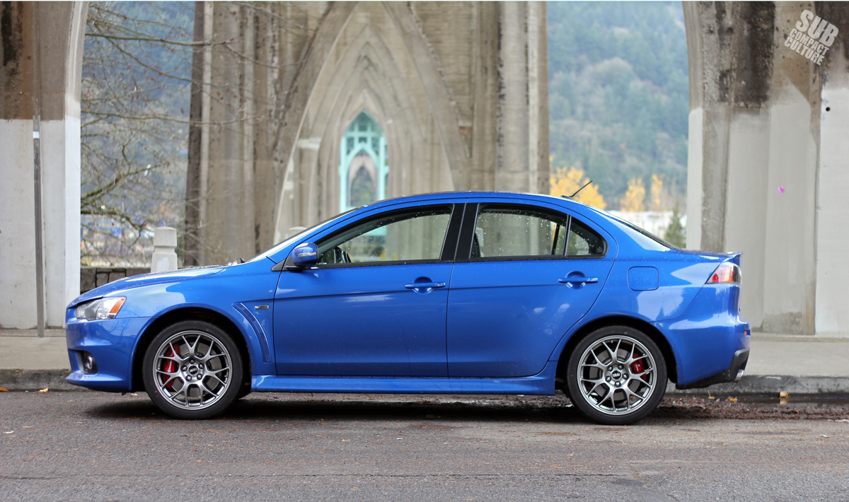 2015 Mitsubishi Lancer Evolution MR   Side