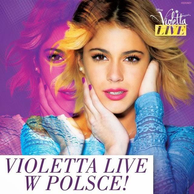 Violetta Live w Polsce