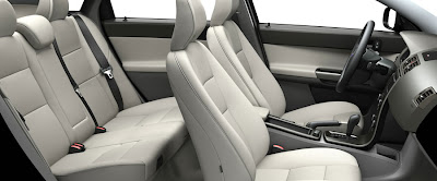 volvo s40 white Interior wallpapers