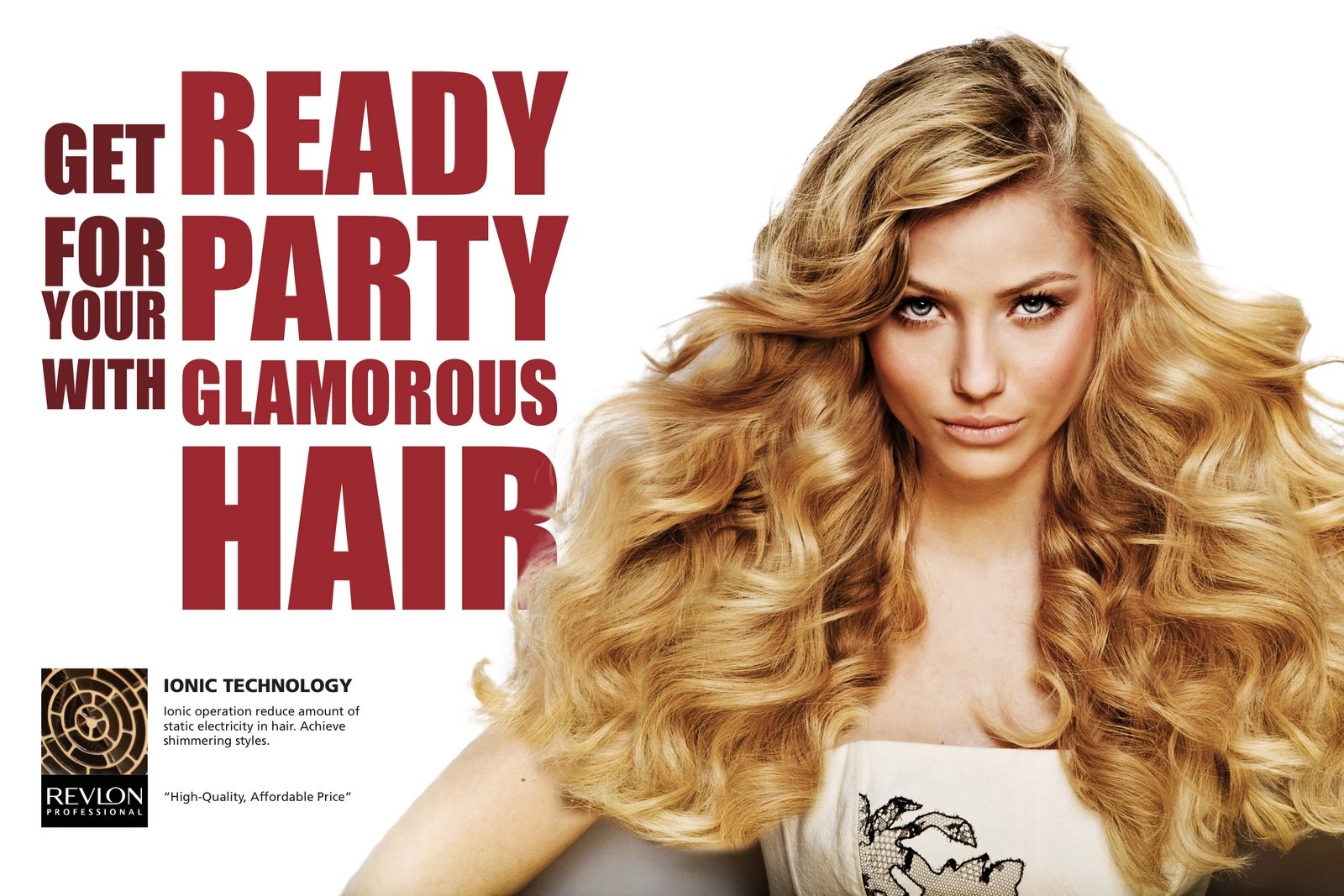 HELLO, HAPPY LOVE: Ad Campaign: REVLON