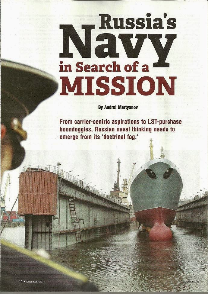 Russia's Navy In Search Of A Mission