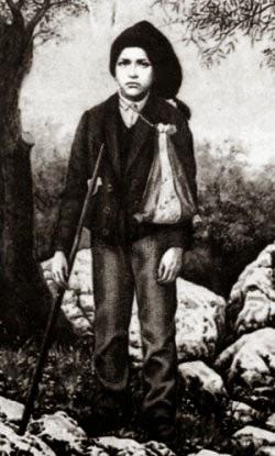 Imagem: Wikimedia. Francisco Marto.11 de Junho de 1908 em Ourém Morte 4 de Abril de 1919 (10 anos) em Ourém