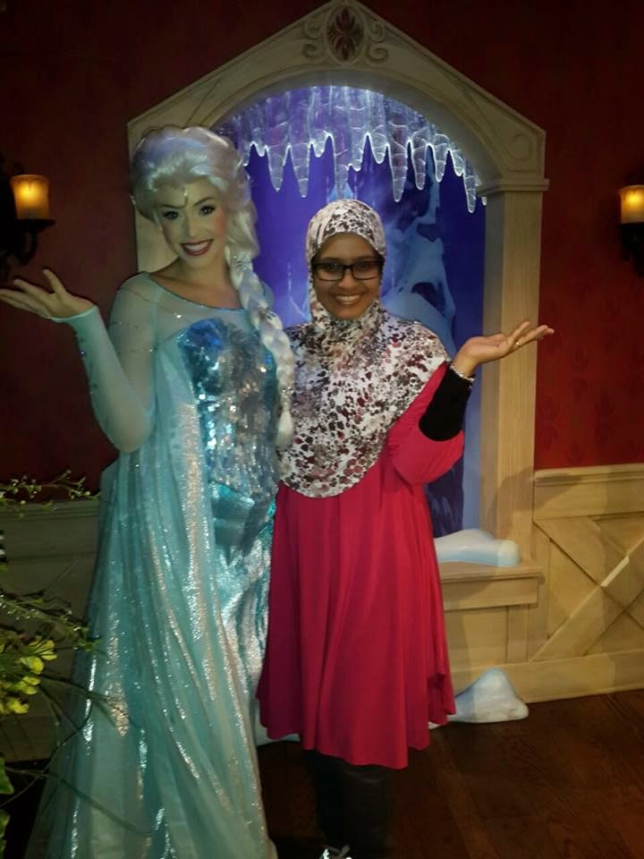 Disneyland Los Angeles, Elsa Frozen