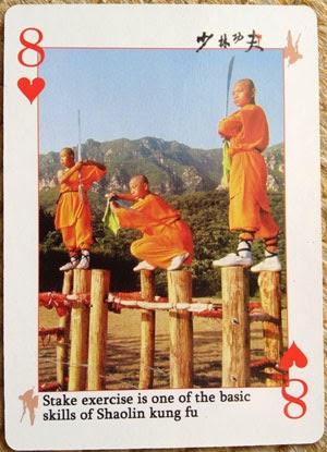 8 do Baralho de Kung Fu Shaolin