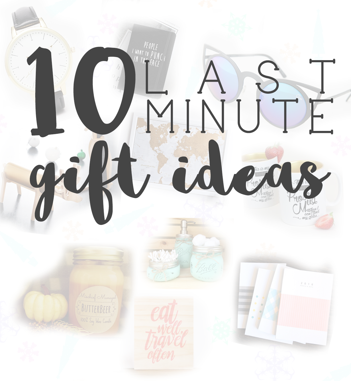 10 last minute gift ideas for christmas