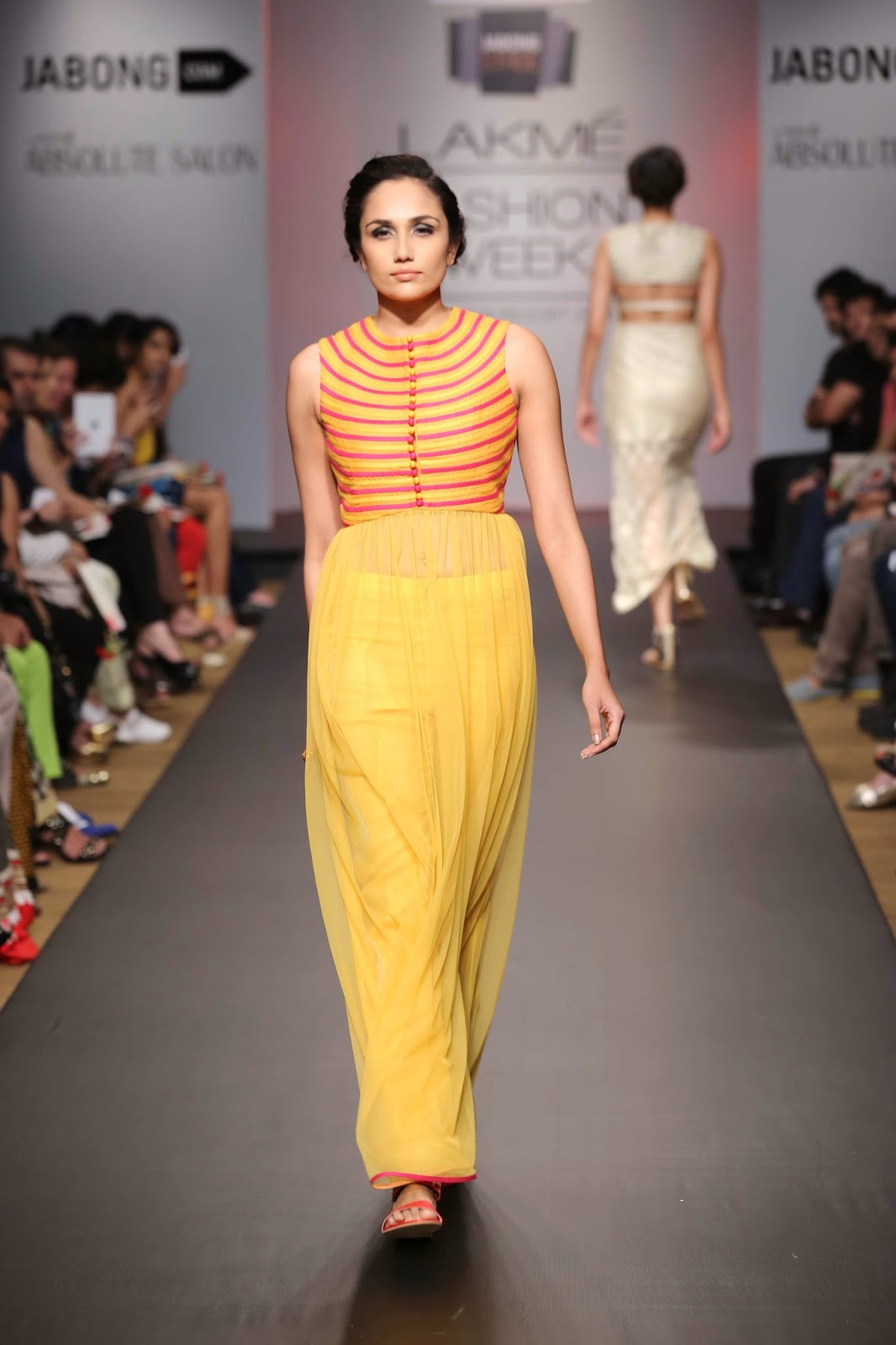 Sonam and Paras Modi under their label 'SVA' showcased a fabulous, rich, rustic-chic collection titled 'Kasi' at Lakmé Fashion Week Summer/Resort 2014.