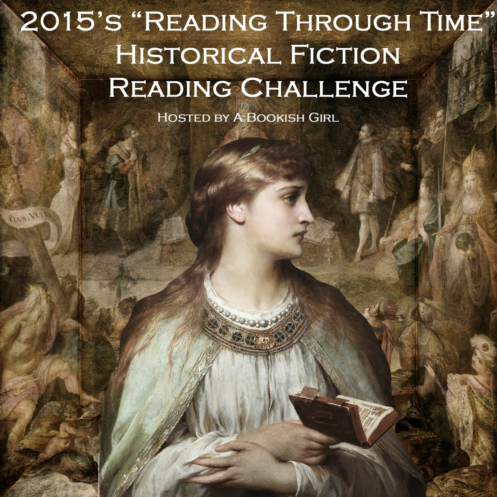 "2015's ""Reading Through Time"" Historical Fiction Reading Challenge"