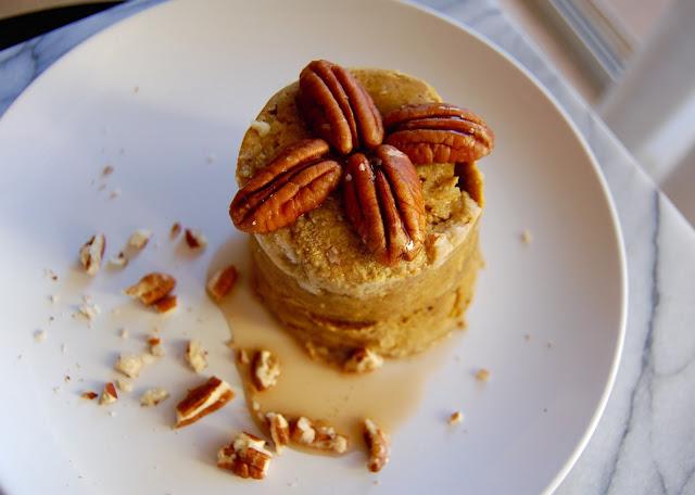 FullSizeRender%2B%252812%2529 - Easy 5 min Protein Pumpkin Mug Cake