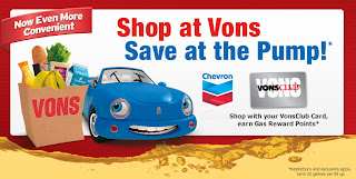 shop at vons save at the pump