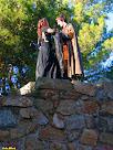 El príncep amb la princesa al Castell del Far. Autor: Carlos Albacete