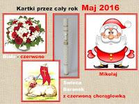 KARTKI 2016 - MAJ