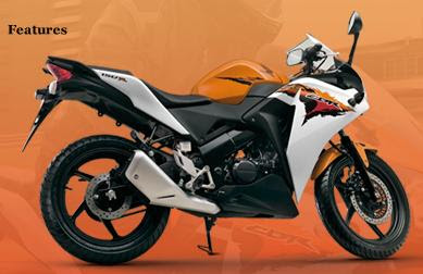 Honda CBR150R orange color