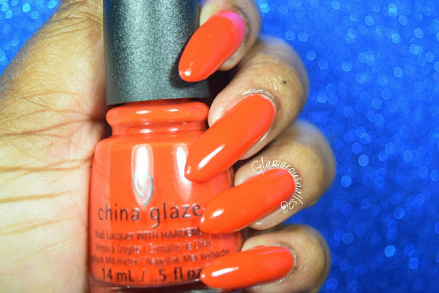 "China Glaze Desert Escape Collection ""The Heat Is On"" Swatch"