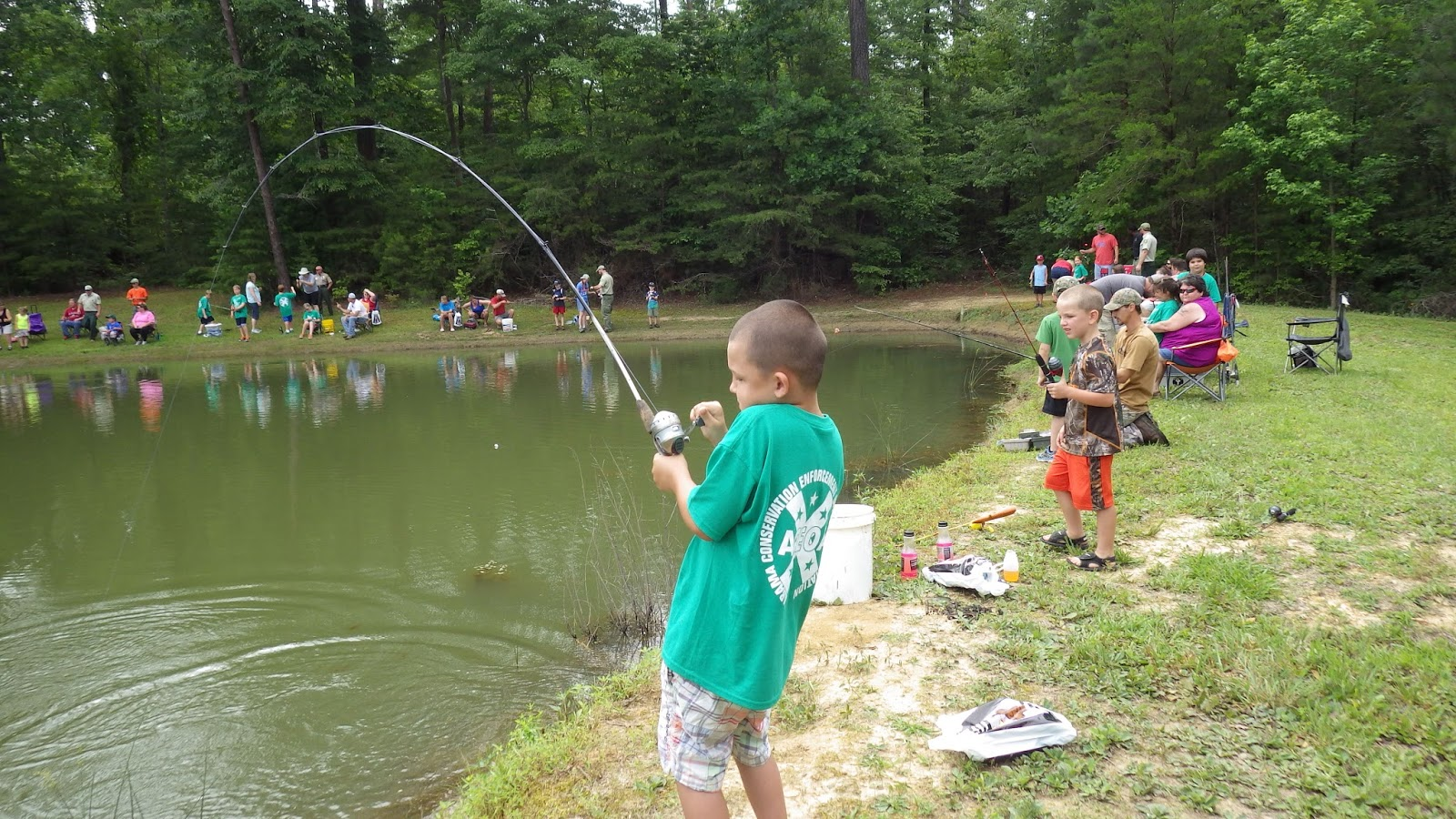 winston county natural resources council kids fishing derby