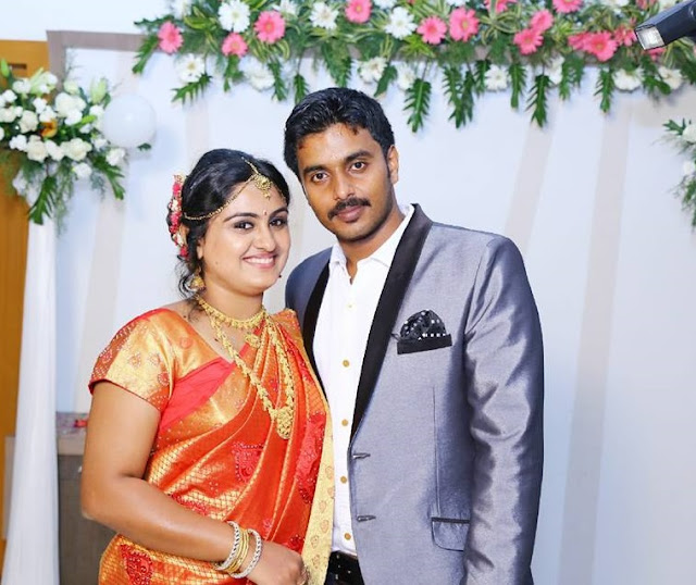 Actress Sini Varghese Married Antony -Wedding Reception Photos