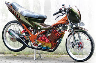 Gambar Modifikasi Satria FU 150 | Foto Modif Suzuki Satria F 150 Terbaru 2012