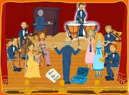Instrumentos de una orquesta